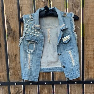 🌸Jacket jeans Xs small 🌸